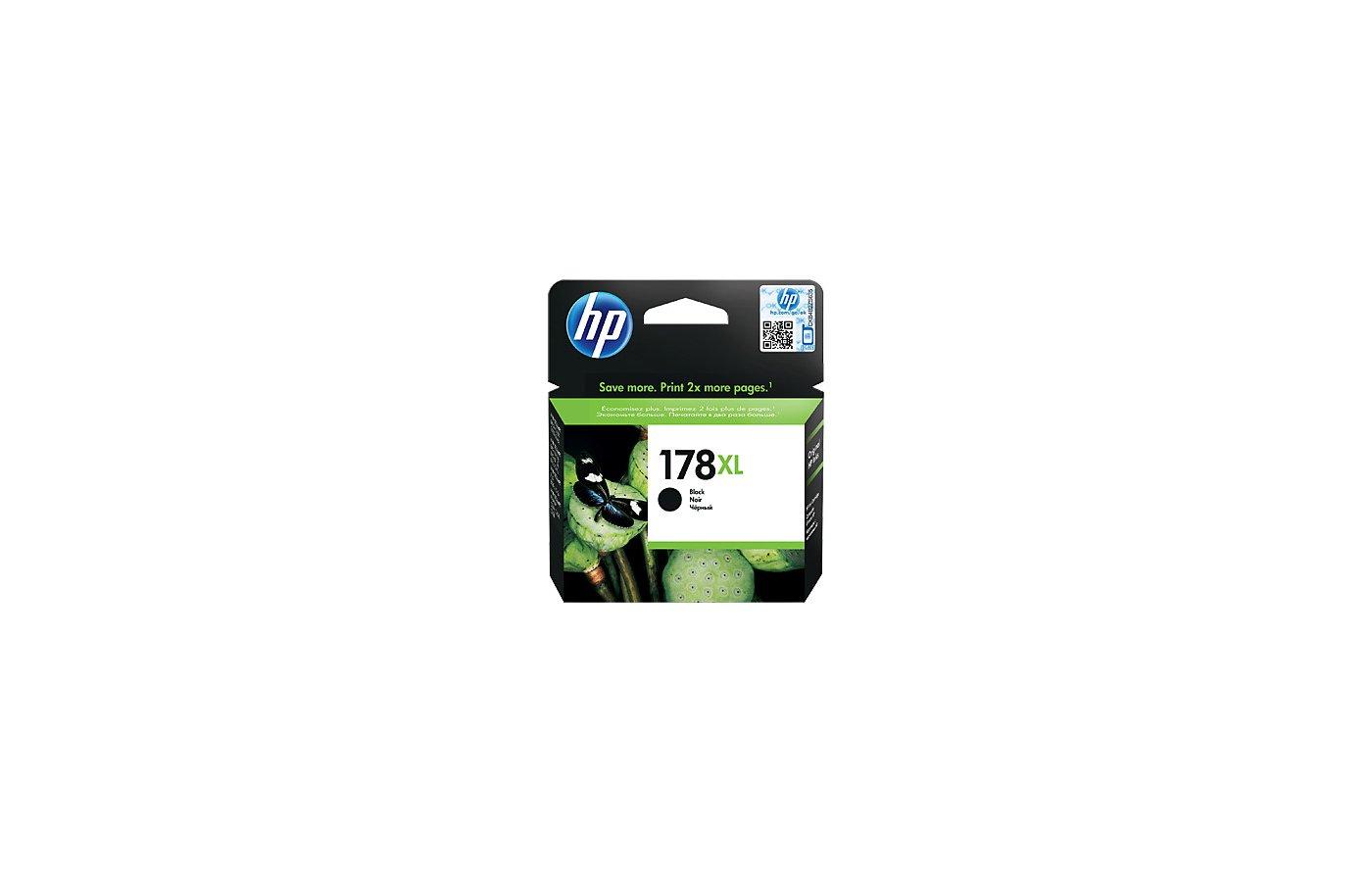 Картридж струйный HP 178XL CN684HE черный для PS B8553/C5383/C6383/D5463/B109/C410 (550стр.)