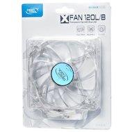 Фото Охлаждение Deepcool XFAN 120L/B 120x120x25 3pin 26dB 1300rpm 119g голубой LED для корпуса
