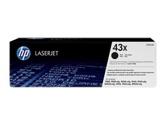 Картридж лазерный HP 43X C8543X черный (30000стр.)
