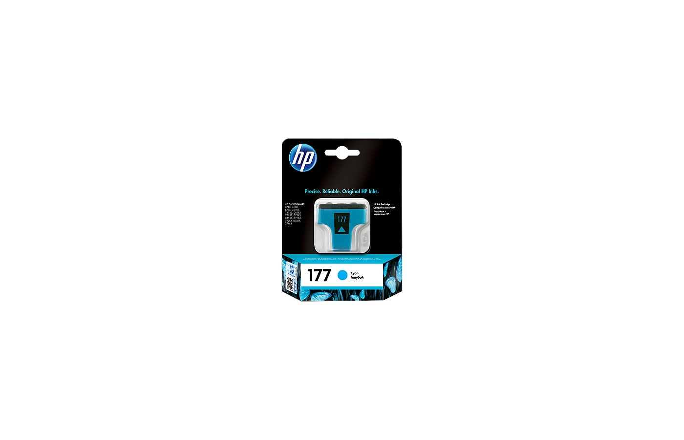 Картридж струйный HP C8771HE голубой для HP 3313/C5183/C6183/C7183/D7163/8253