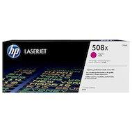 Картридж лазерный HP 508X CF363X пурпурный для HP CLJ M552/M553 (9500стр.)