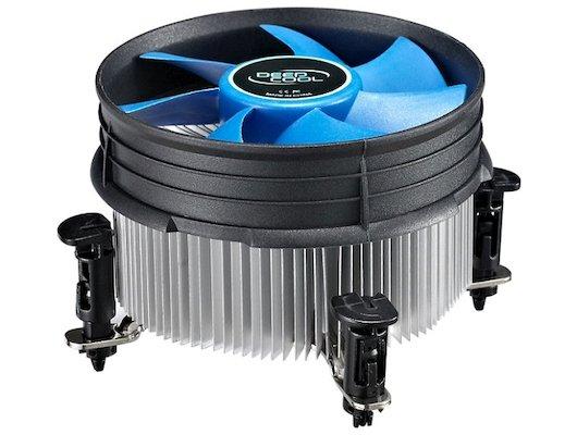 Охлаждение Deepcool THETA 16 PWM Soc-1150/1155/1156 4pin 18-26dB Al+Cu 95W 401g клипсы