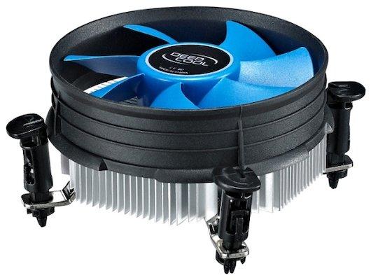 Охлаждение Deepcool THETA 9 Soc-1150/1155/1156 3pin 23dB Al 82W 269g клипсы низкопрофильный