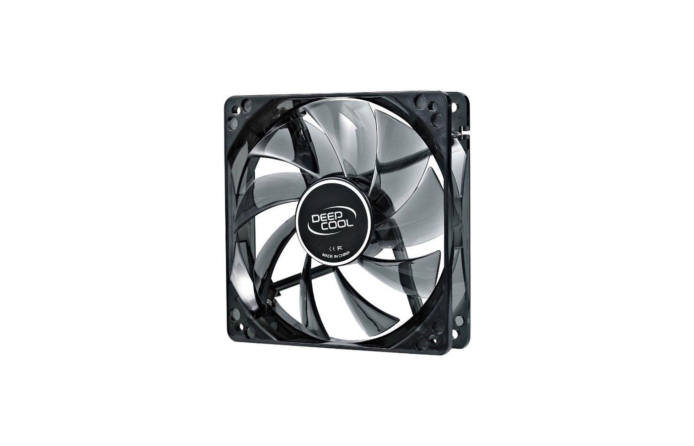 Охлаждение Deepcool WIND BLADE 80 80x80x25 3pin 20dB 1800rpm 60g голубой LED для корпуса