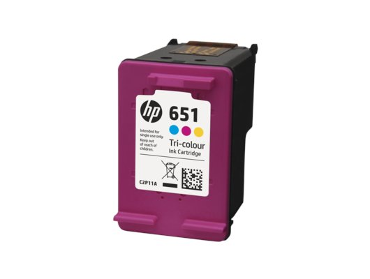 Картридж струйный HP 651 C2P11AE многоцветный