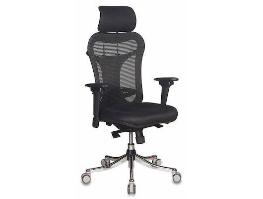 Бюрократ CH-999ASX спинка сетка черный сиденье черный TW-11 крестовина хром