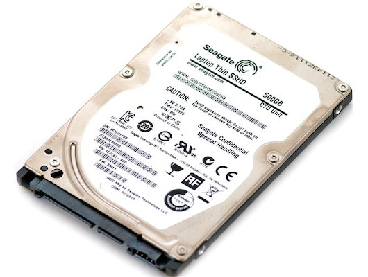 Жесткий диск Seagate SATA-III 500Gb ST500LM000 Laptop Thin SSHD (5400rpm) 64Mb 2.5