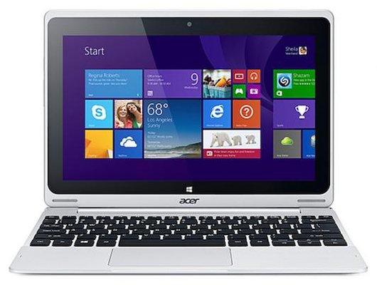 Планшет Acer SWITCH SW1-011-19J9 (10.1) Transformer /NT.LCSER.004/ intel X5-Z8300/64Gb/dock/Win10/Grey