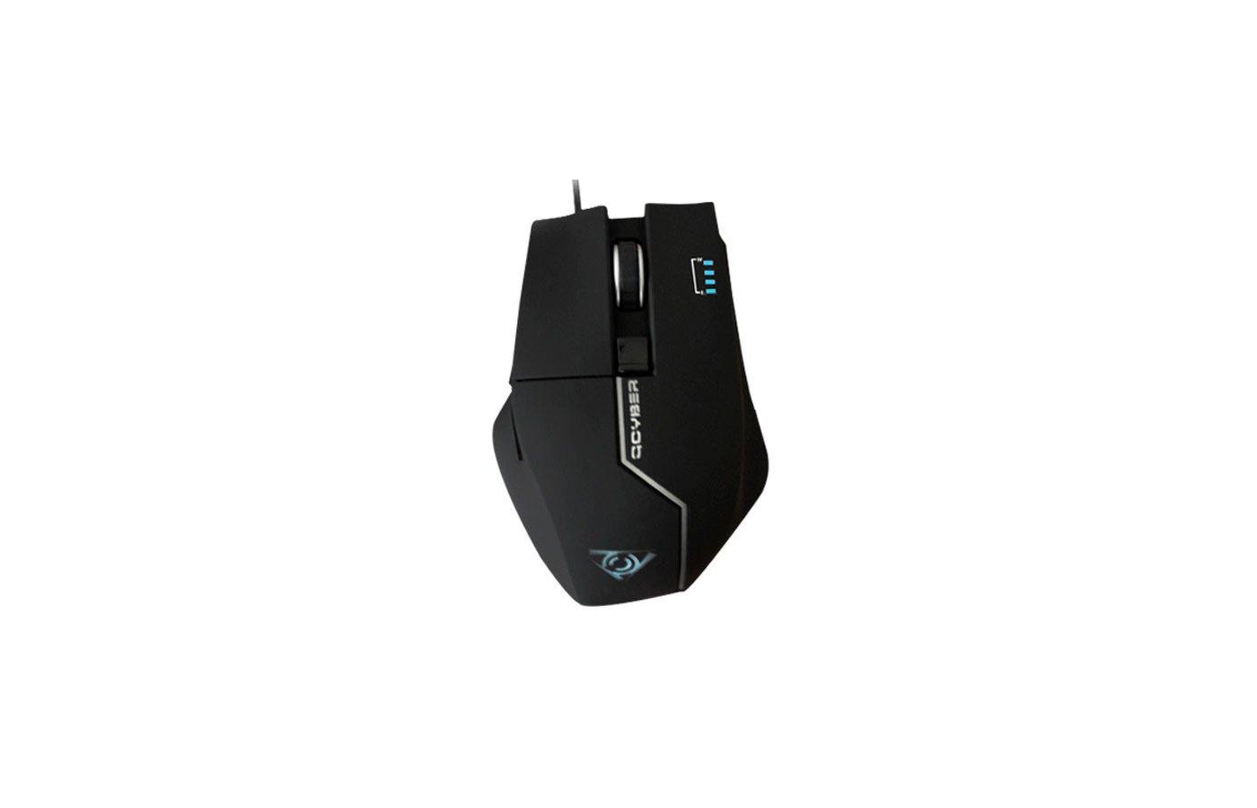 Мышь проводная Qcyber Zorg Black QC-02-004DV02