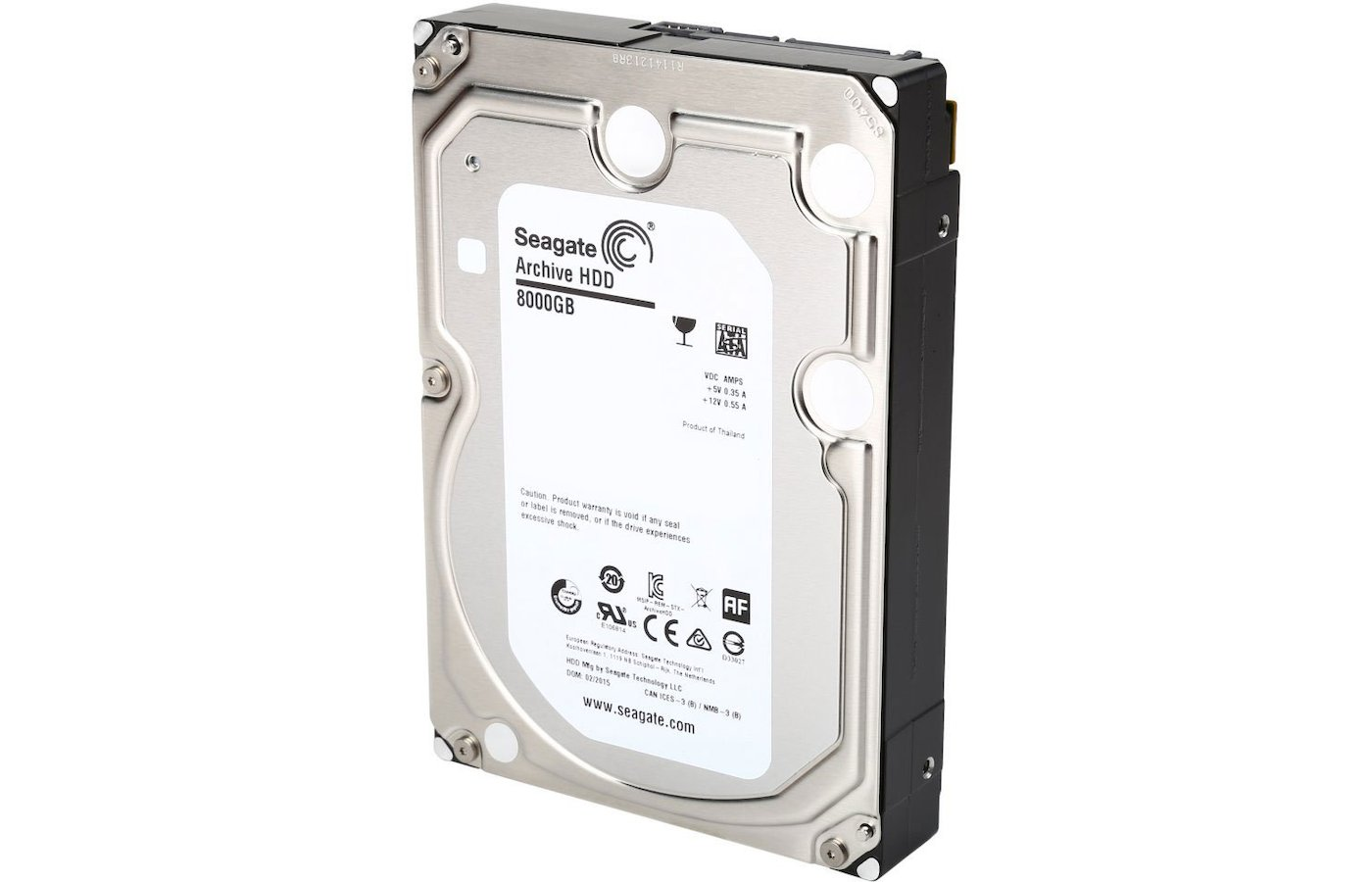 Жесткий диск Seagate SATA-III 8Tb ST8000AS0002 Archive (5900rpm) 128Mb 3.5