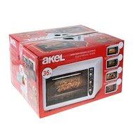 Электрическая мини-печь AKEL AF-372 красный 40л