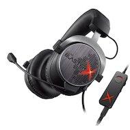 Игровые наушники проводные Creative Sound BlasterX H7 черный/серебристый 1.5м