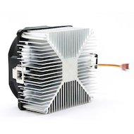 Фото Охлаждение Glacialtech Igloo A200 Light Soc-AMD/ 3pin 21dB Al 65W 165g скоба BULK