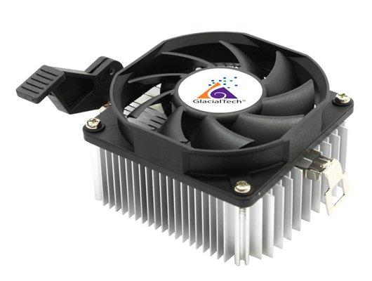 Охлаждение Glacialtech Igloo A200 Light Soc-AMD/ 3pin 21dB Al 65W 165g скоба BULK