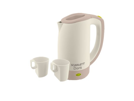 Чайник электрический  Scarlett SC-021 (серый)