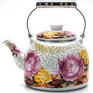 Фото чайник металлический Mayer Boch 23365 ЭМАЛЬ 5л