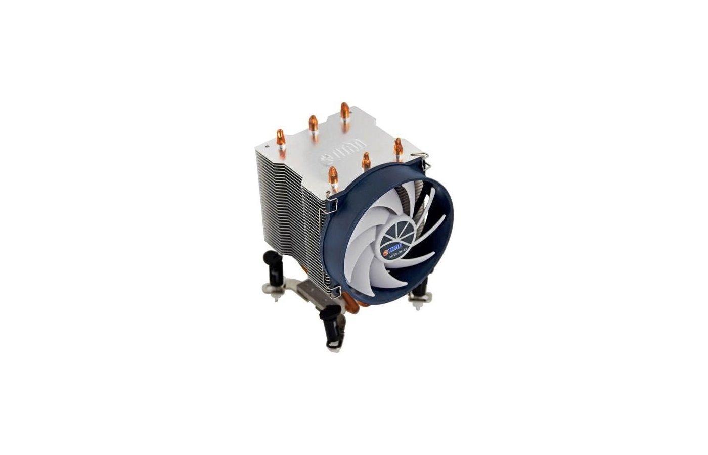 Охлаждение Titan TTC-NK35TZ/R(KU) Soc-1155/775/AM3+/FM1/FM2 3pin 21dB Al+Cu 140W 540g клипсы Z-AXIS