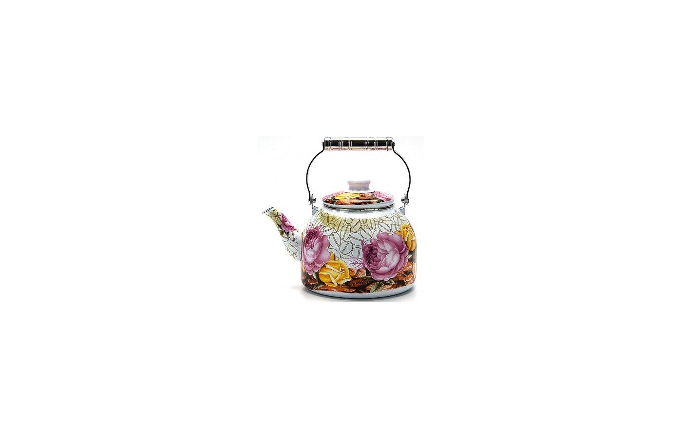 чайник металлический Mayer Boch 23365 ЭМАЛЬ 5л