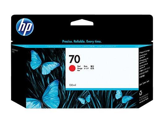 Картридж струйный HP 70 C9456A Red для DJ Z2100/Z3100 (130 мл)