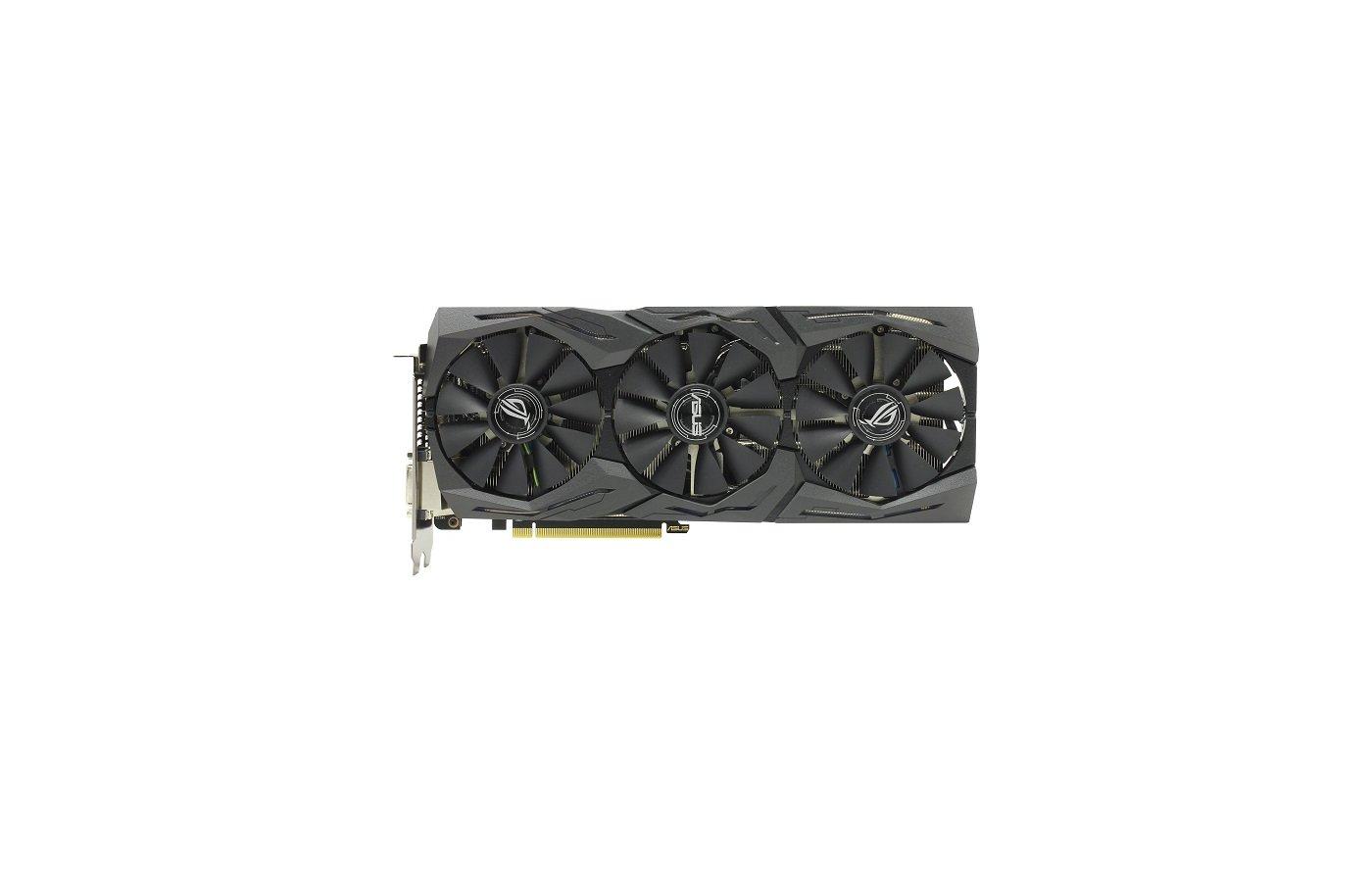 Видеокарта Asus PCI-E STRIX-RX480-O8G-GAMING AMD Radeon RX 480 8192Mb 256bit Ret