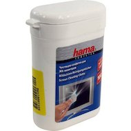 Чистящее средство Hama R1084187 салфетки для экранов мониторов/плазменных/ЖК телевизоров/ноутбуков малая туба 100шт вл