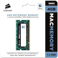 Фото Оперативная память Corsair CMSA4GX3M1A1333C9 RTL PC3-10600 DDR3 4Gb 1333MHz CL9 SO-DIMM