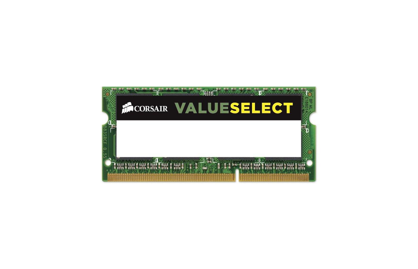 Оперативная память Corsair CMSO8GX3M1C1600C11 RTL PC3-12800 DDR3L 8Gb 1600MHz CL11 SO-DIMM