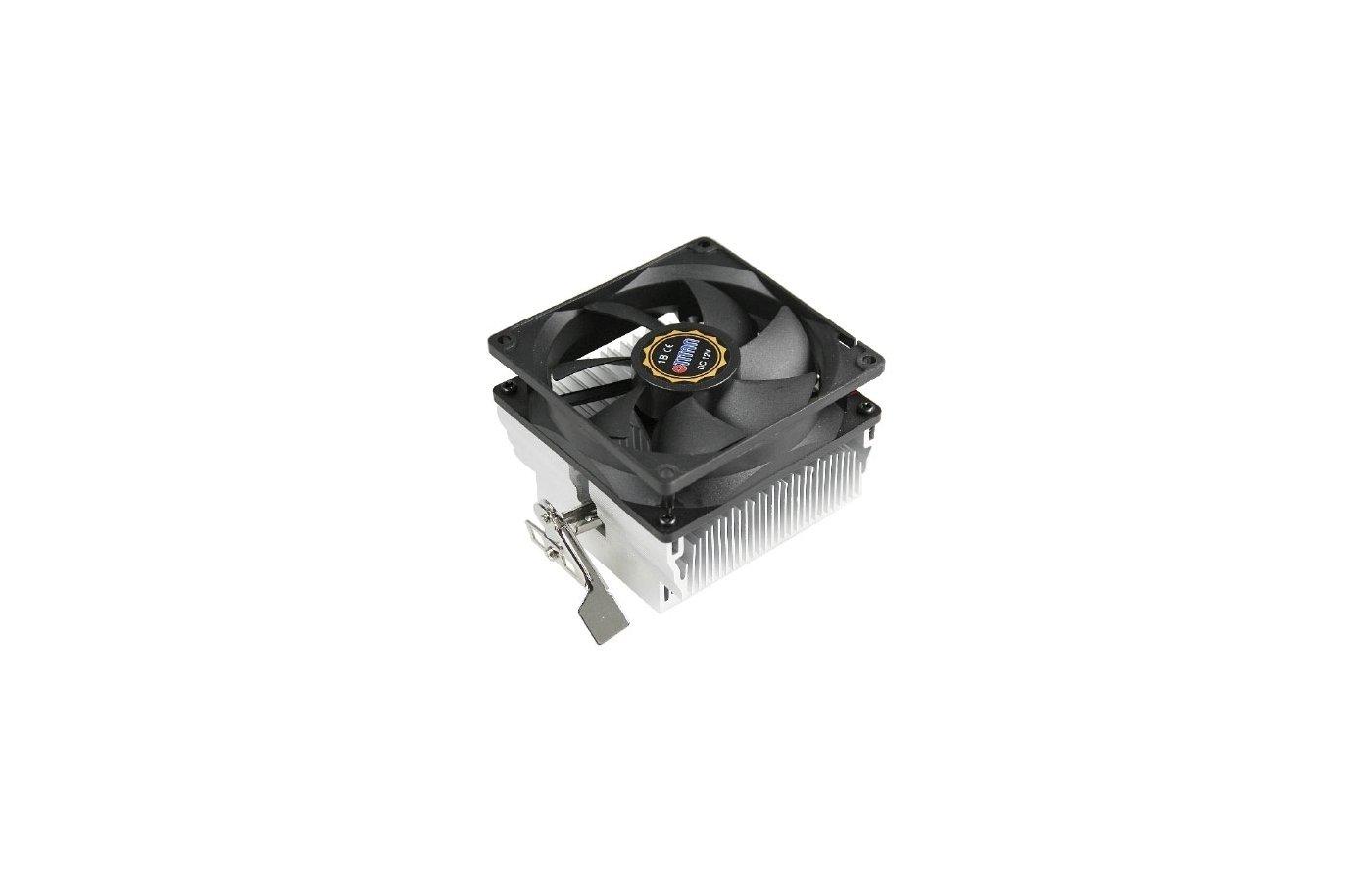 Охлаждение Titan DC-K8M925B/R/CU35 Soc-AM3+/FM1/FM2 3pin 25dB Al+Cu 105W 495g скоба