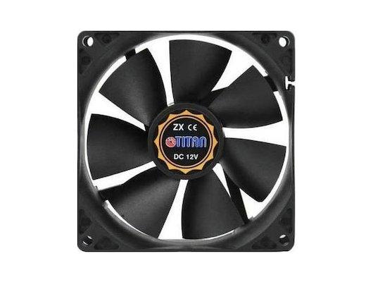 Охлаждение Titan DCF-8025L12S 80x80x25 3pin 23dB 2000rpm 67g для корпуса