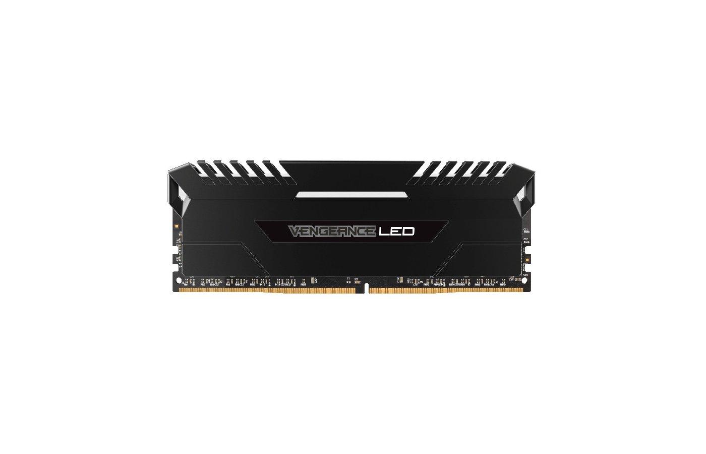 Оперативная память Corsair CMU16GX4M2A2666C16 RTL PC4-21300 DDR4 2x8Gb 2666MHz CL16 DIMM