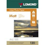 Фото Фотобумага Lomond 0102003 A4/120г/м2/100л./белый матовое для струйной печати