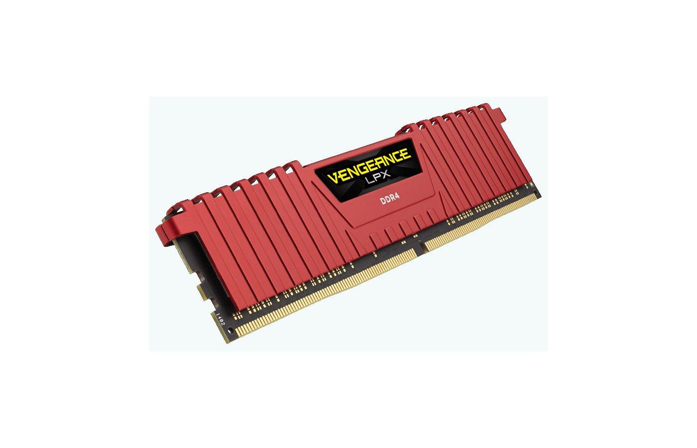 Оперативная память Corsair CMK16GX4M2A2400C14R RTL PC4-19200 DDR4 2x8Gb 2400MHz CL14 DIMM