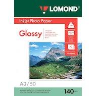 Фото Фотобумага Lomond 0102066 A3/140г/м2/50л./белый глянцевое для струйной печати