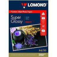 Фото Фотобумага Lomond 1101112 A4/200г/м2/20л./белый высокоглянцевое для струйной печати