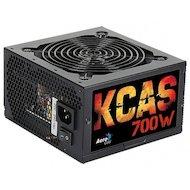 Фото Блок питания Aerocool ATX 700W KCAS-700W 80+ bronze (24+4+4pin) APFC 120mm fan 7xSATA RTL