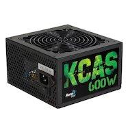 Блок питания Aerocool ATX 600W KCAS-600W 80+ bronze (24+4+4pin) APFC 120mm fan 7xSATA RTL