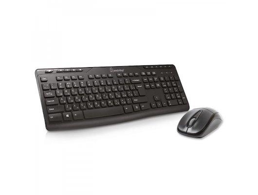 Клавиатура + мышь SmartBuy 209321AG Black