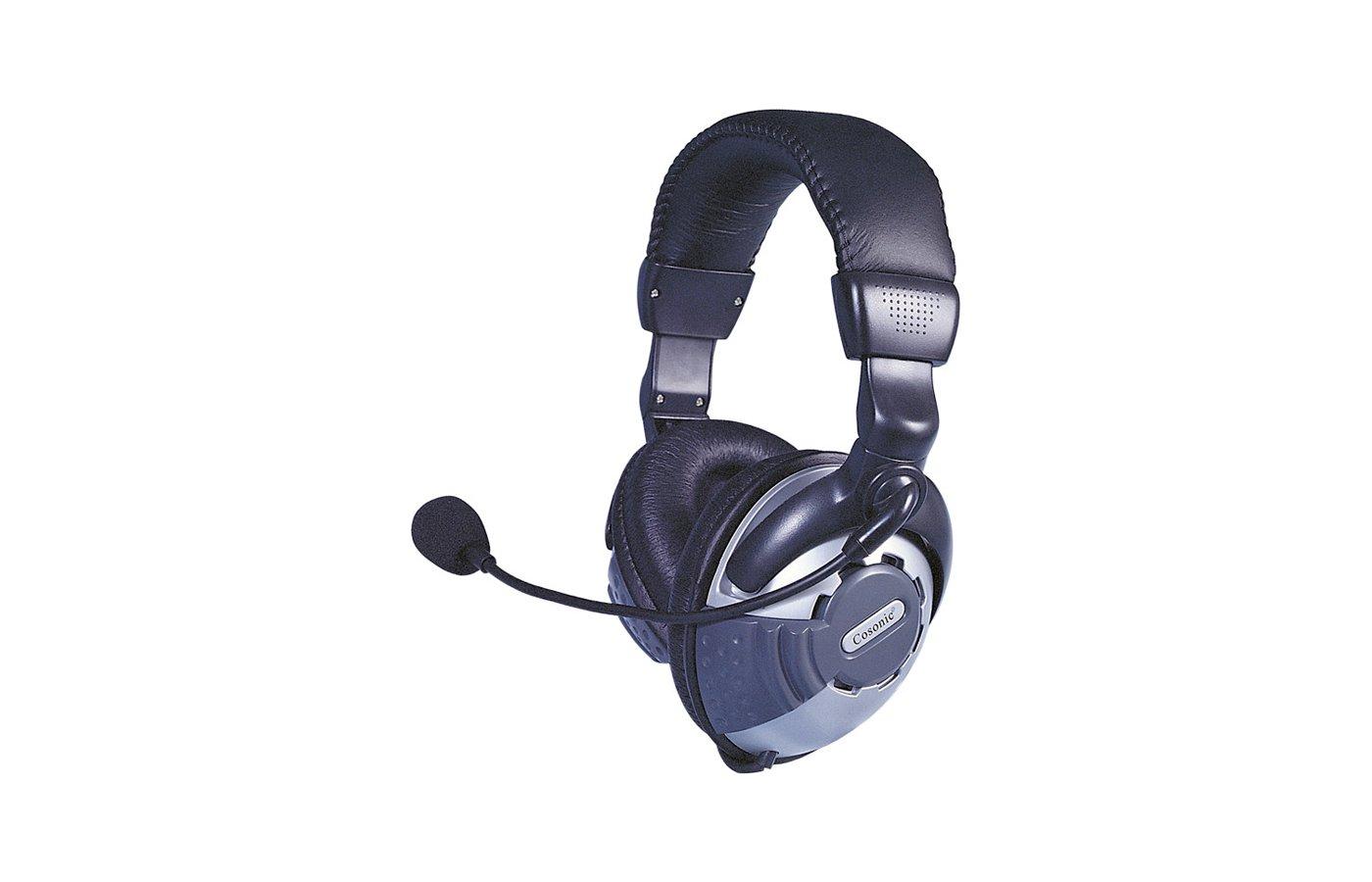 Наушники с микрофоном проводные COSONIC CD860MV