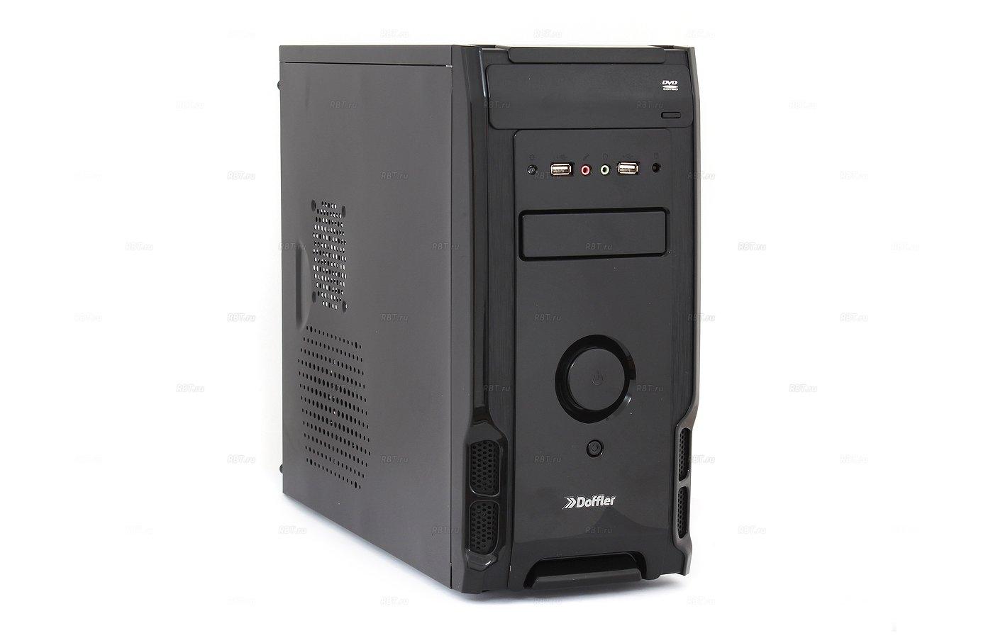 Системный блок Doffler i007R Game intel i5 520m x2 2.40Gh/8Gb/500Gb/R7 350 2Gb/DVDRW/DOS