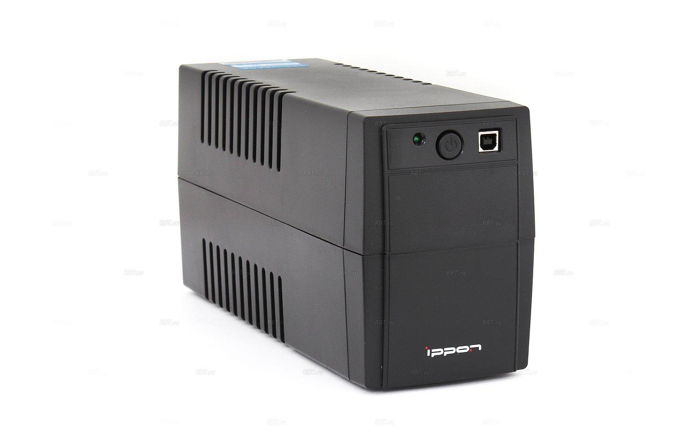 Блок питания Ippon Back Basic 650ВА черный
