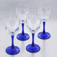 Фото Посуда для напитков Бокал 4шт 240мл Imperial blue 44799