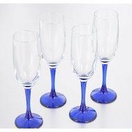 Фото Посуда для напитков Бокал 4шт 155мл Imperial blue 44819