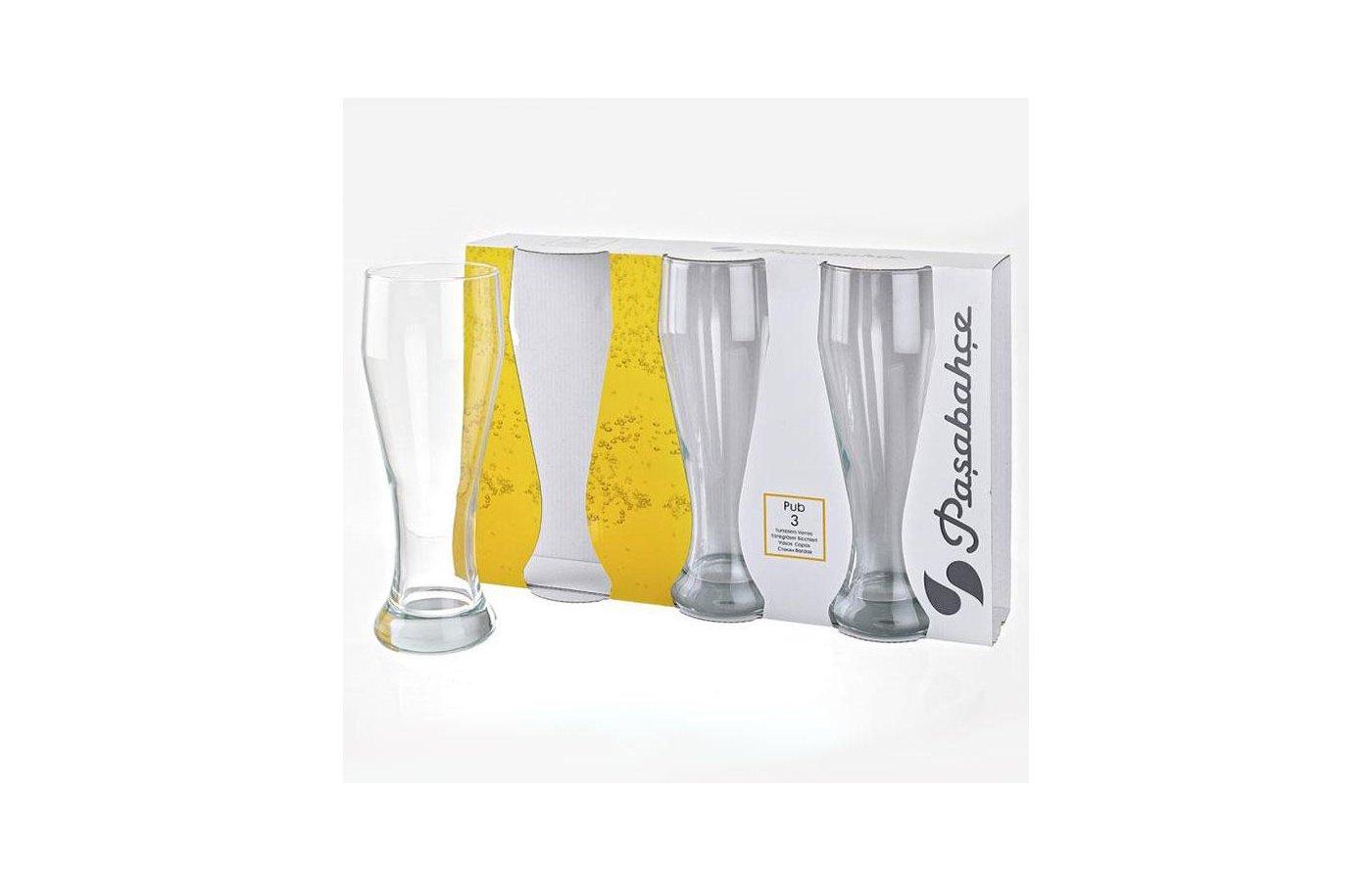 Посуда для напитков Стакан 3шт 665мл ПАБ 42756