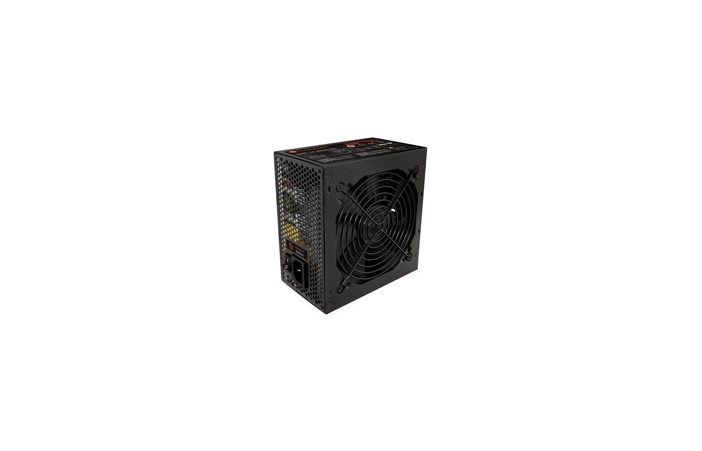 Блок питания Thermaltake ATX 650W LT-650P (24+4+4pin) APFC 120mm fan 5xSATA RTL