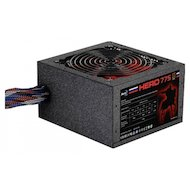 Фото Блок питания Aerocool ATX 750W Hero 775 80+ bronze (24+4+4pin) APFC 120mm fan red LED 6xSATA RTL