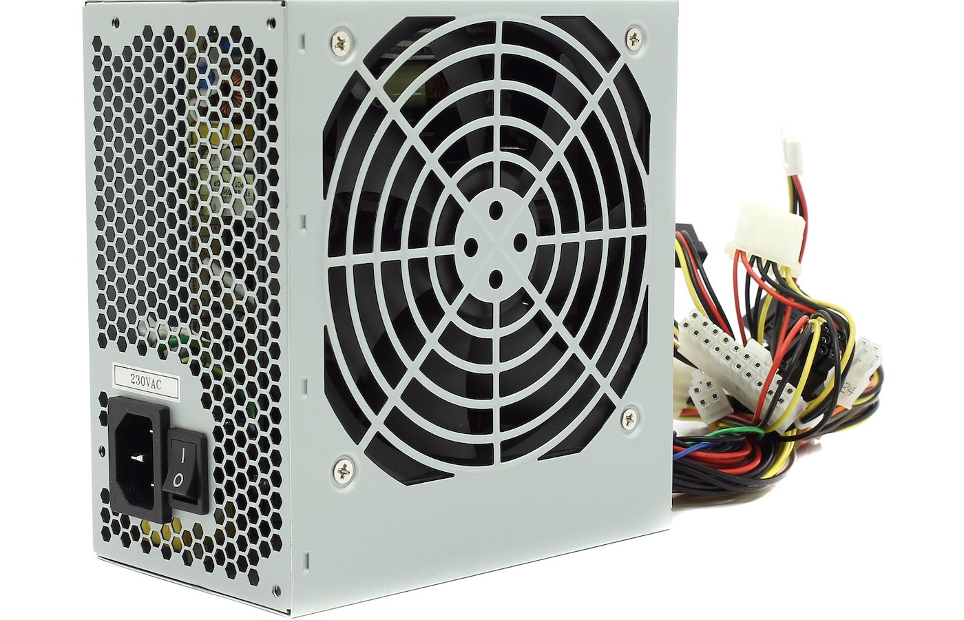 Блок питания FSP ATX 400W ATX-400PNR-I (24+4pin) 120mm fan 2xSATA