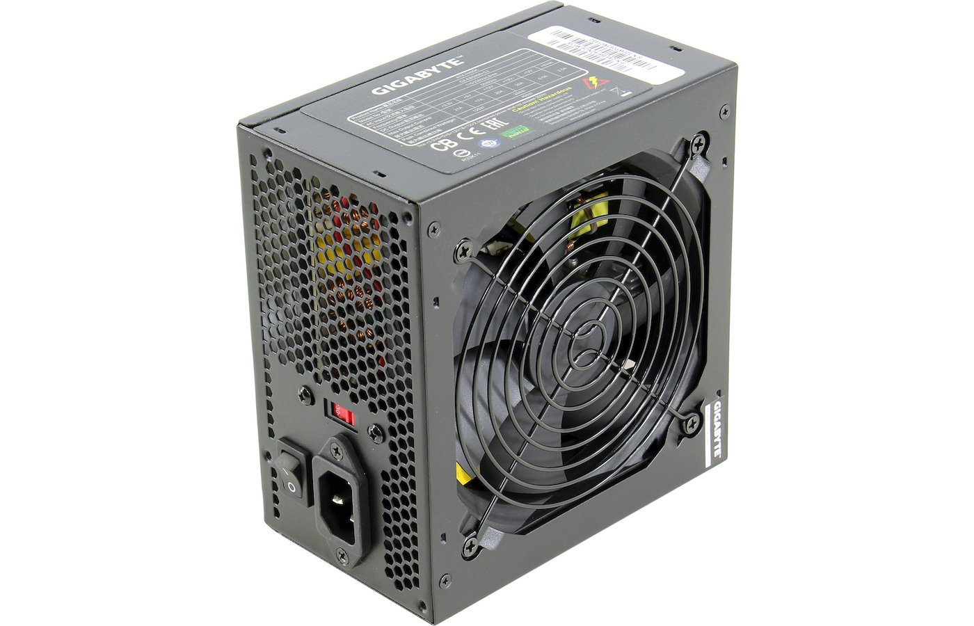 Блок питания Gigabyte ATX 400W GZ-EBS40N-C3 (24+4+4pin) 120mm fan 3xSATA