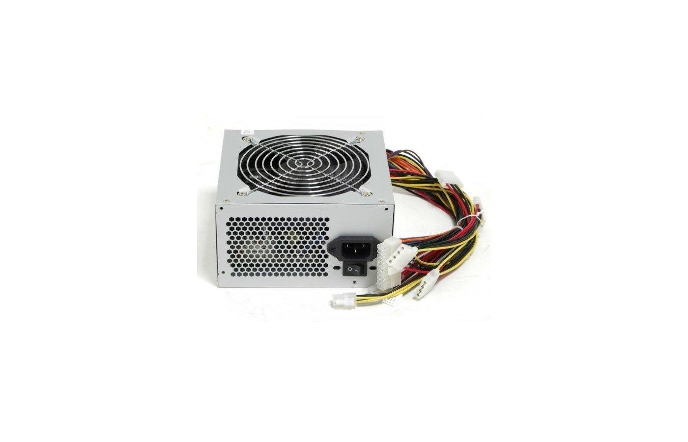 Блок питания LinkWorld ATX 350W LW6-350W (24+4pin) 120mm fan 3xSATA