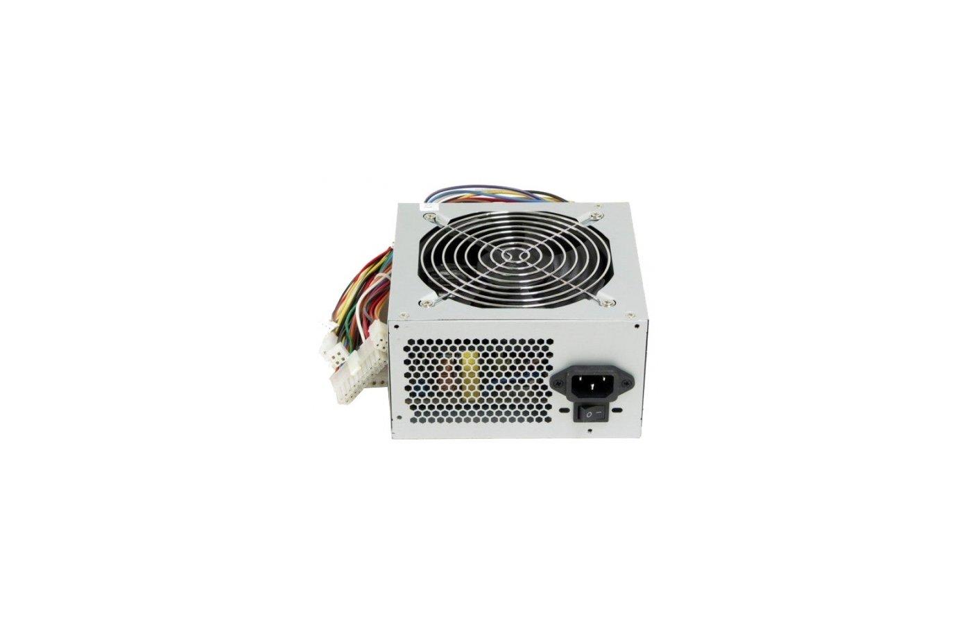 Блок питания LinkWorld ATX 600W LW6-600 (24+4pin) 120mm fan 4xSATA RTL