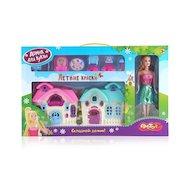 Кукла DollyToy DOL0803-003 Дом для куклы Летние краски